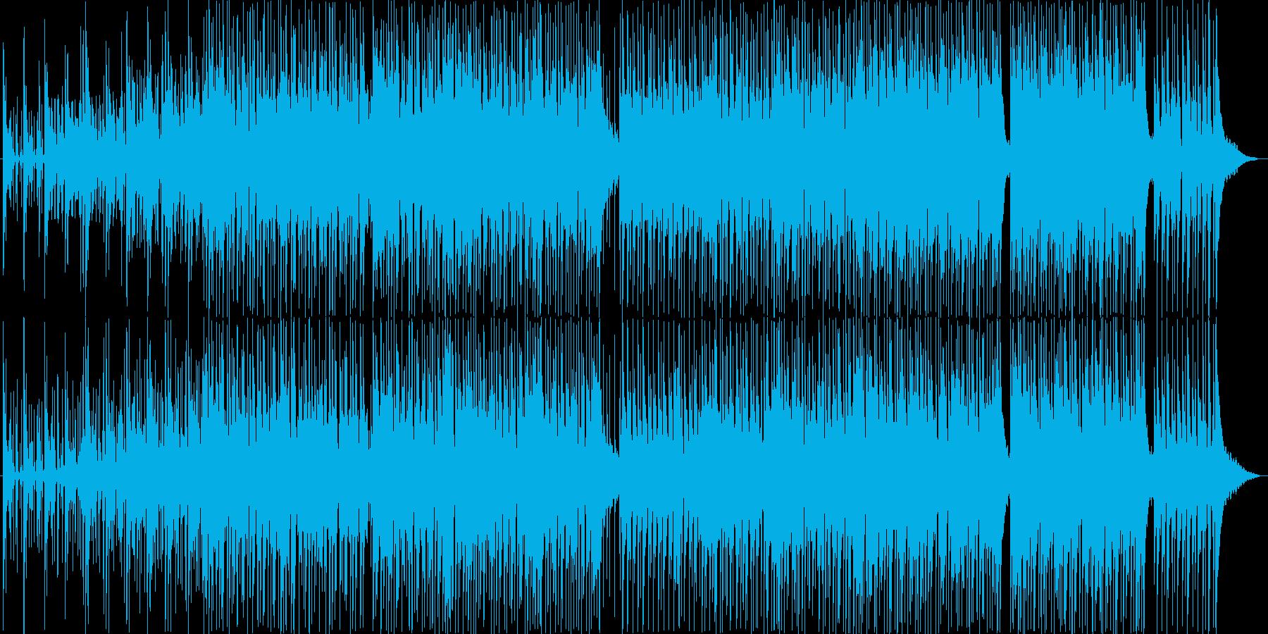 イージーリスニング アクション ポ...の再生済みの波形