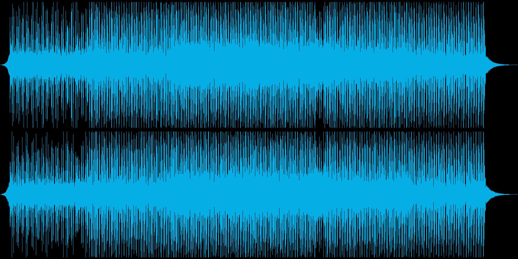 ハッピーアップビート(ミディアム)の再生済みの波形