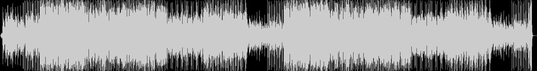 ピアノがかっこいいスピード感溢れるBGMの未再生の波形