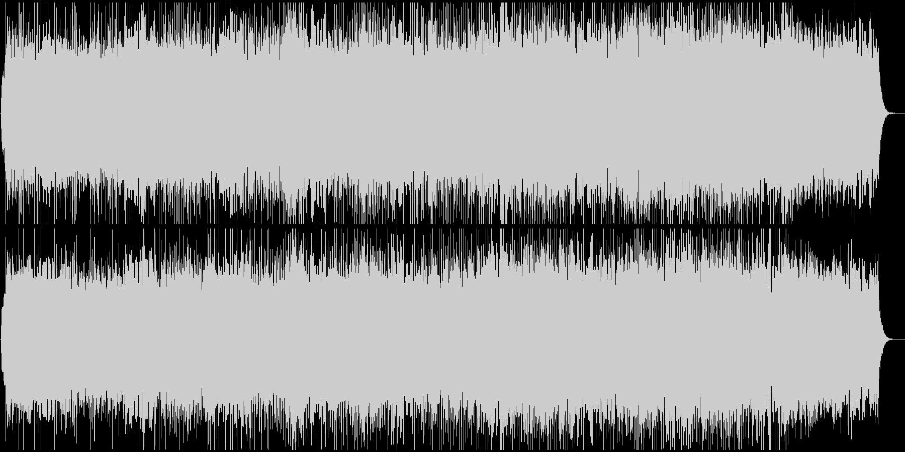 豪華でダイナミックなBGMの未再生の波形