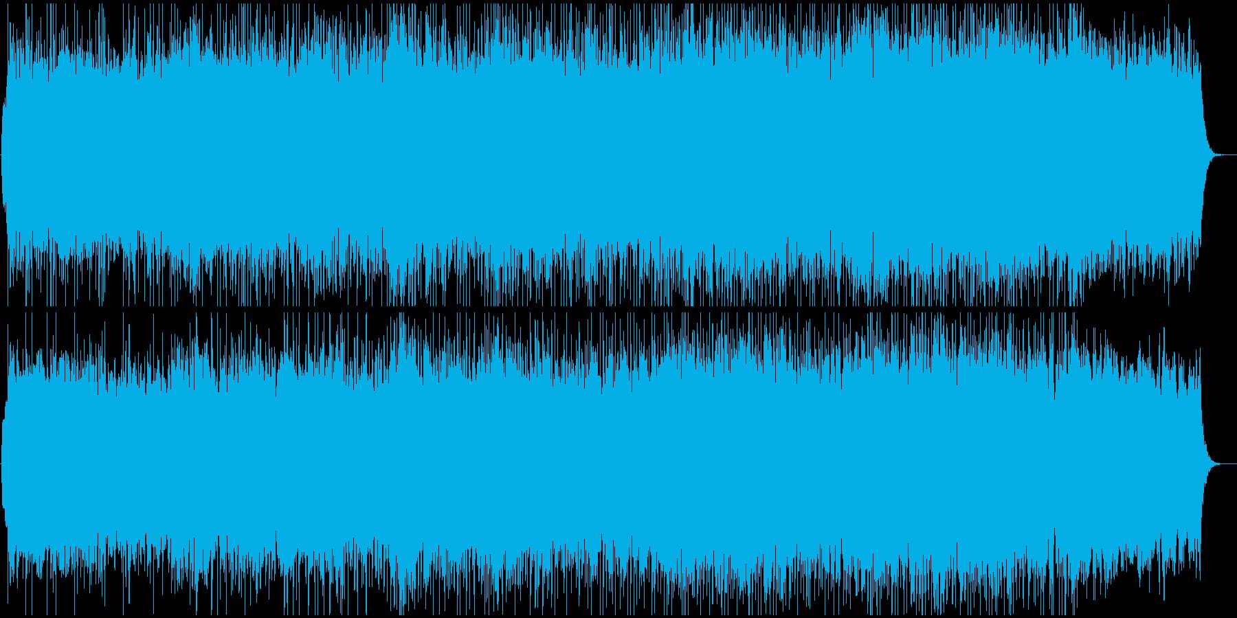 豪華でダイナミックなBGMの再生済みの波形