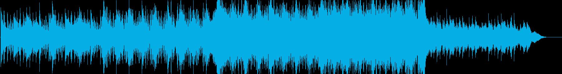 クール、モダンで壮大なオーケストラの再生済みの波形