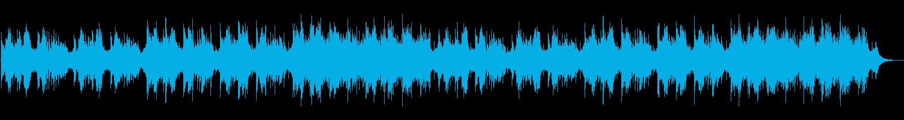 雪桜の再生済みの波形