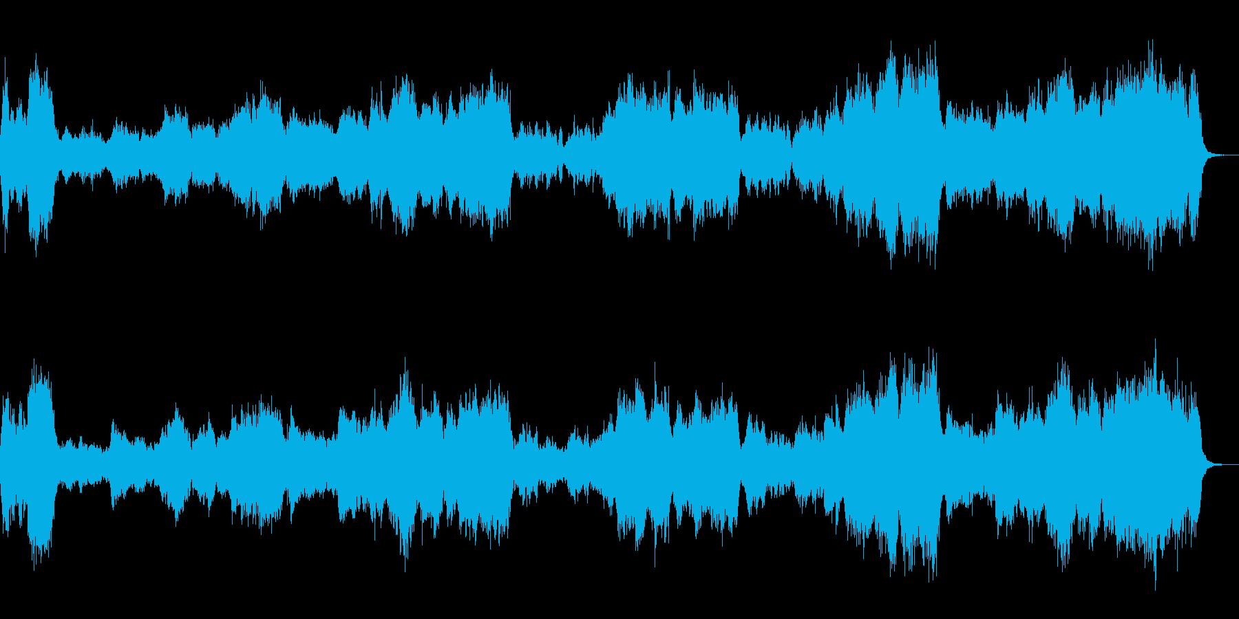 アドベンチャー映画的交響曲、式典などにもの再生済みの波形
