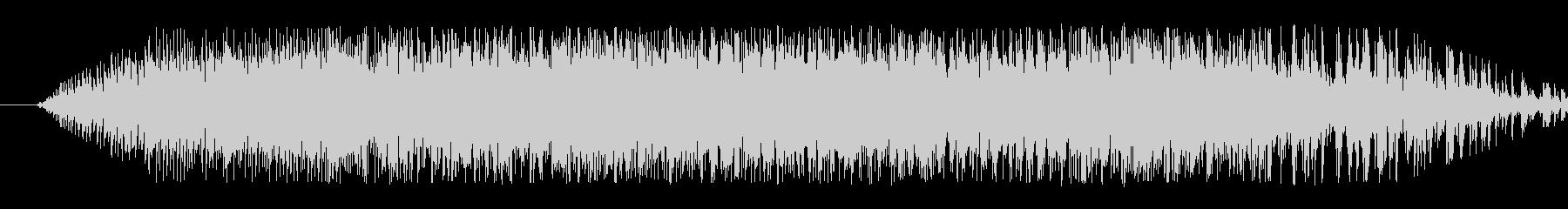 翼竜の鳴き声(クアーッ)の未再生の波形