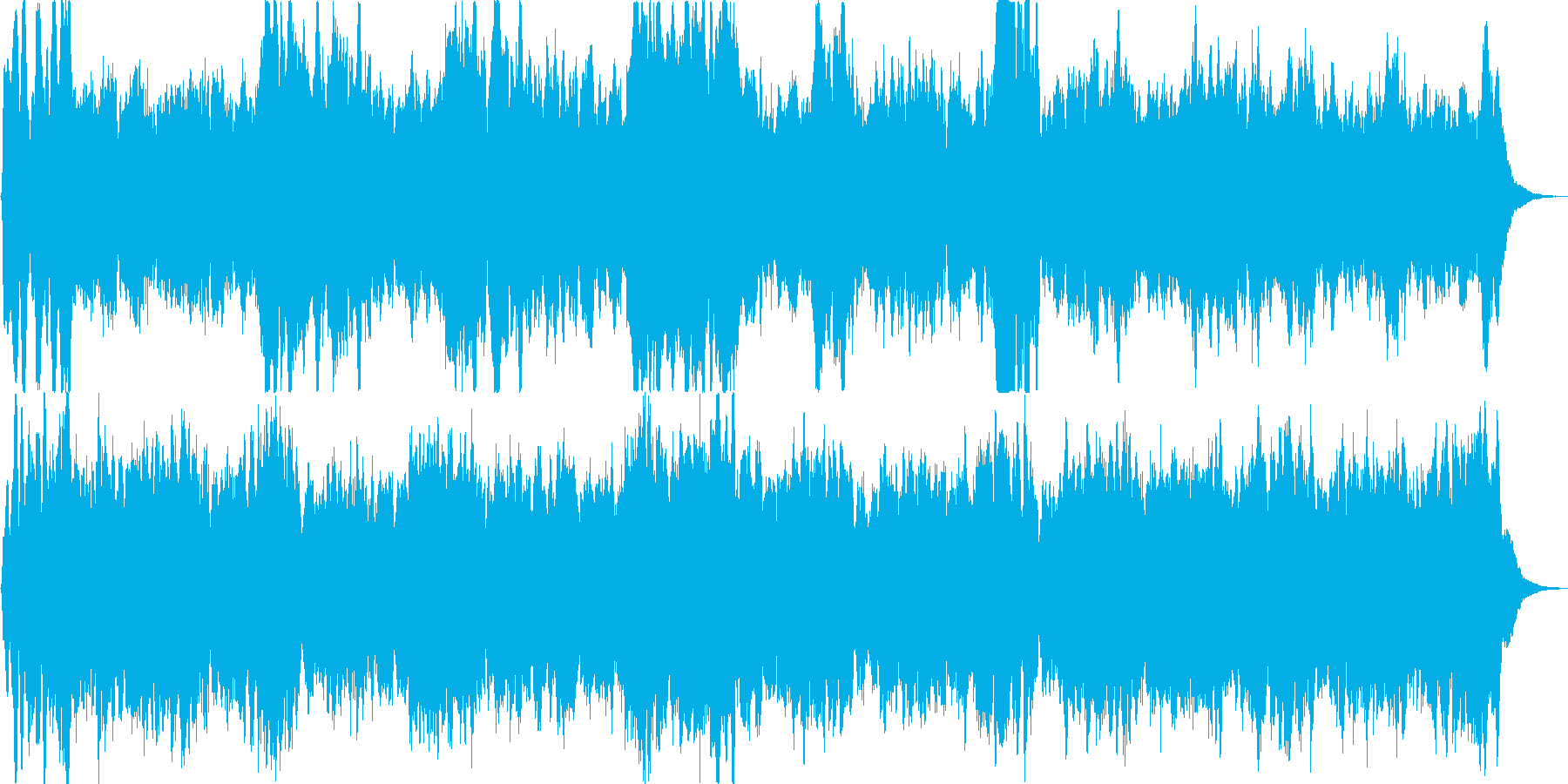「明けの明星」という言葉からイメージし…の再生済みの波形