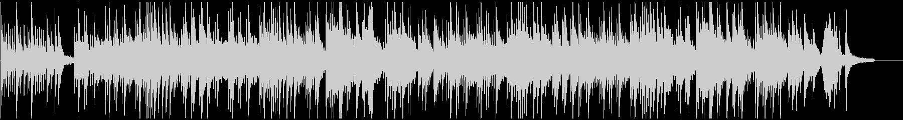 暗く悲しいイメージのピアノヒーリング曲の未再生の波形