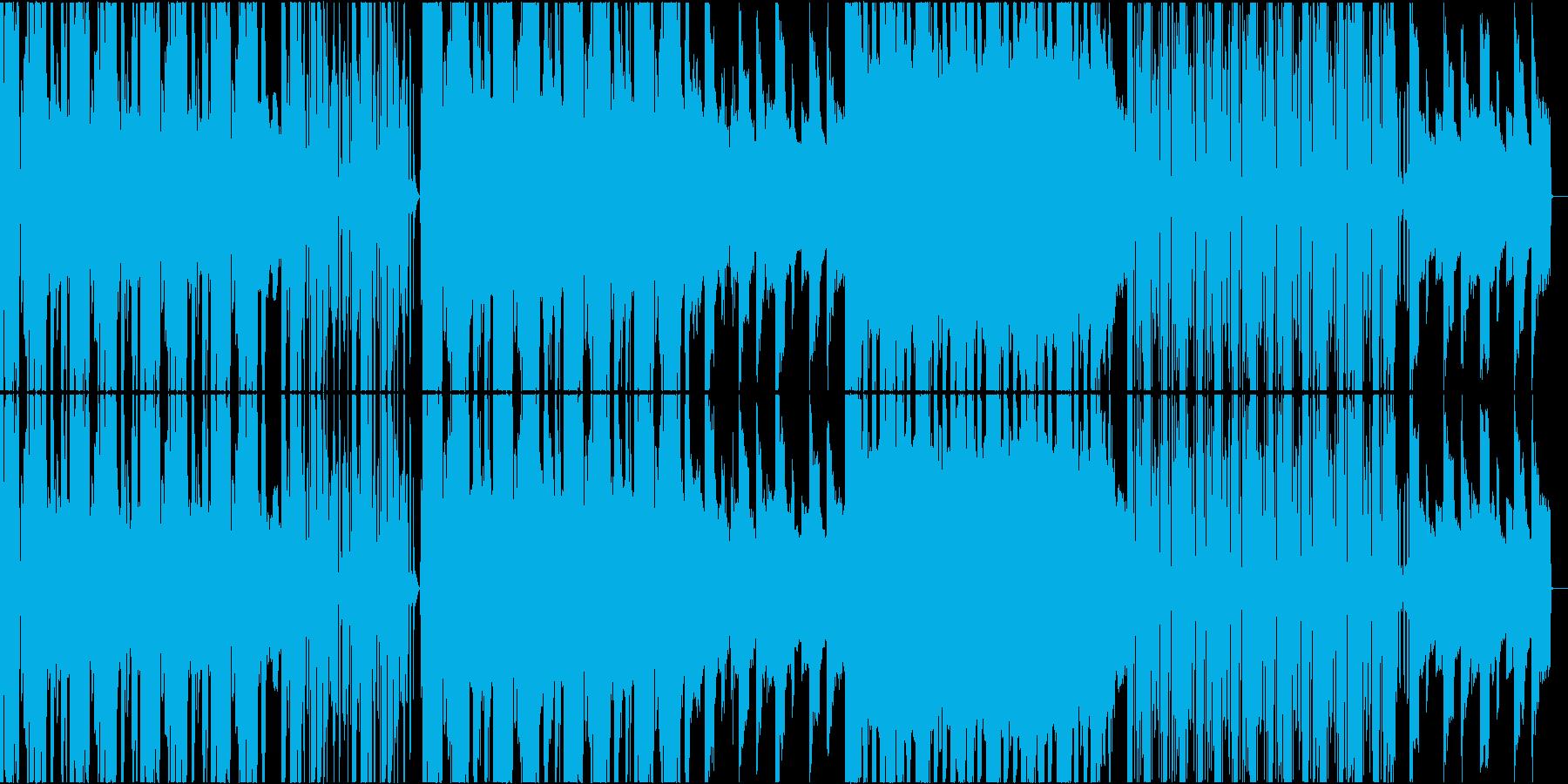 淡々とした不思議なリズム感のミニマルの再生済みの波形
