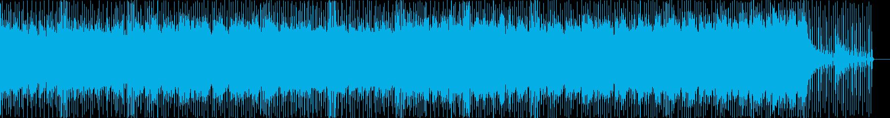 ヘヴィロック アクション 説明的 ...の再生済みの波形