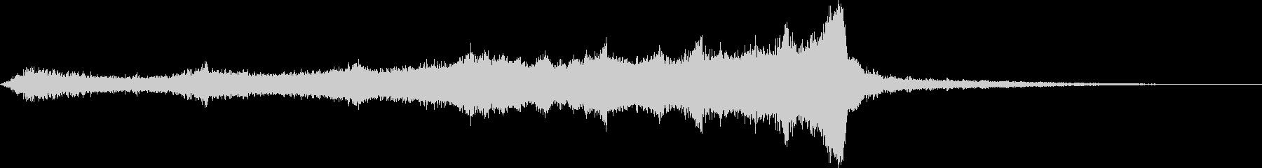 CINEMATIC RISER_14の未再生の波形