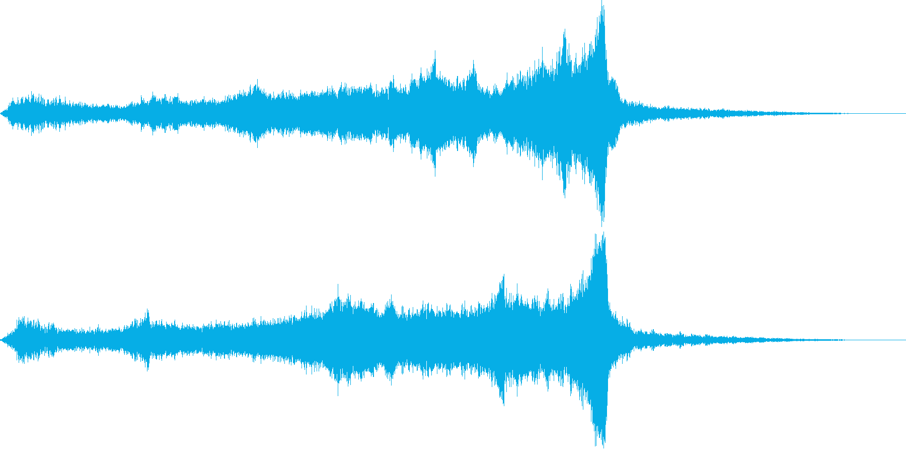 CINEMATIC RISER_14の再生済みの波形