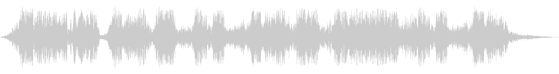 短騒音溝の未再生の波形