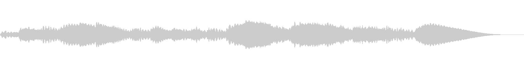 不気味な不協和音BGMの未再生の波形