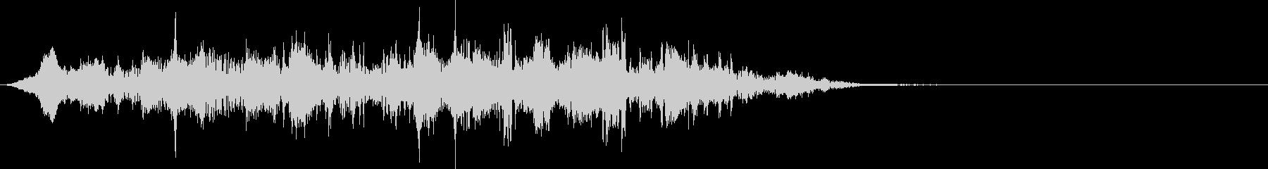 這いずる・触手を動かす音(長)の未再生の波形
