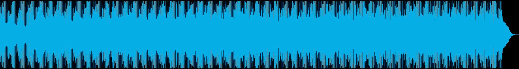 マリンバとウクレレが可愛いポップスBGMの再生済みの波形