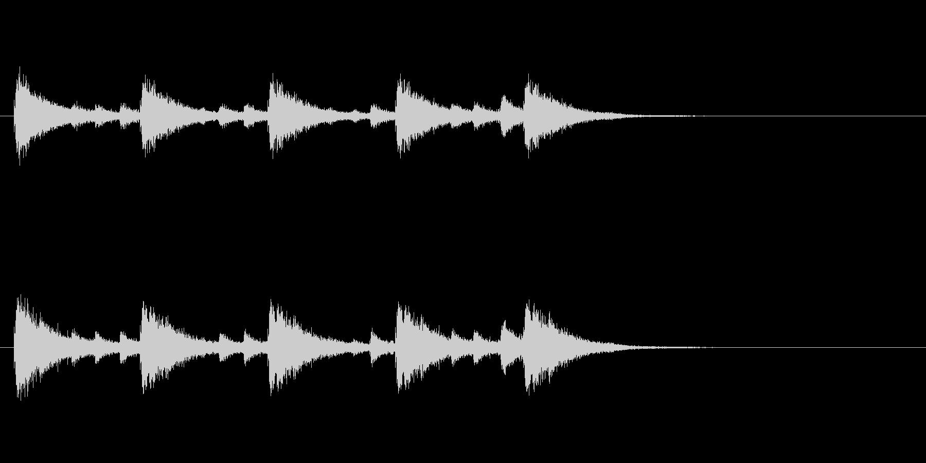 和製シンバルみょうはちのフレーズ音+FXの未再生の波形