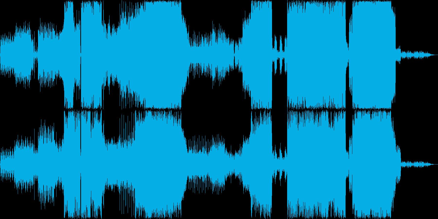オーケストラ メタルの再生済みの波形