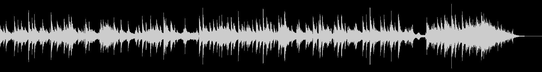 ショートムービー向きバラードの未再生の波形