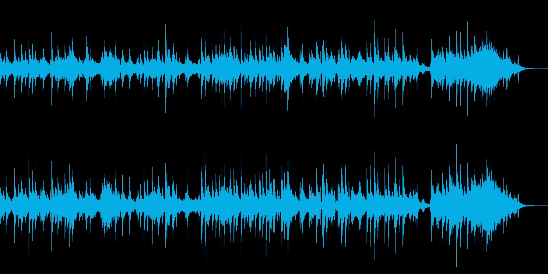 ショートムービー向きバラードの再生済みの波形