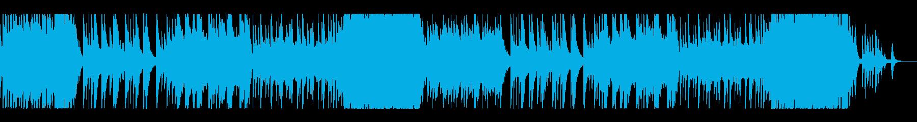 切ない雰囲気のオーケストラバラードの再生済みの波形