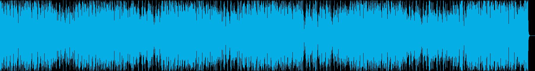 イケイケ/はやいジャズ/静かめの再生済みの波形