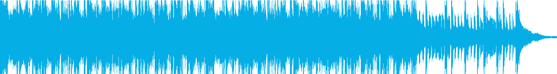 適度にエネルギッシュで速いDrum...の再生済みの波形