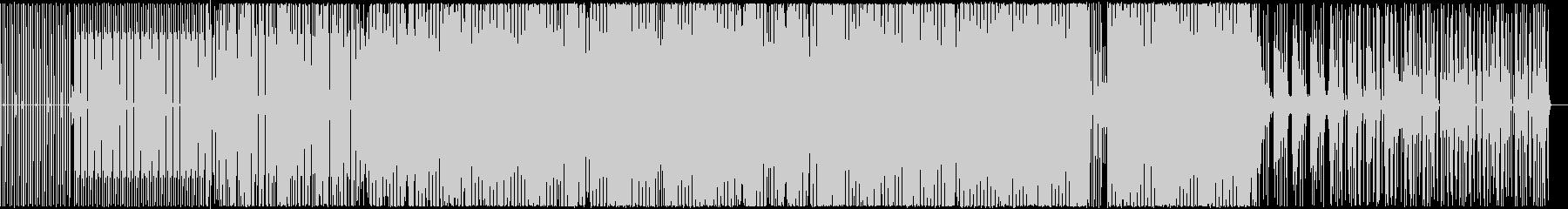 スロー。落ち着いたベースライン。の未再生の波形