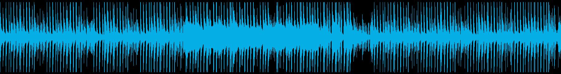 マリンバのほのぼのしたBGMですの再生済みの波形