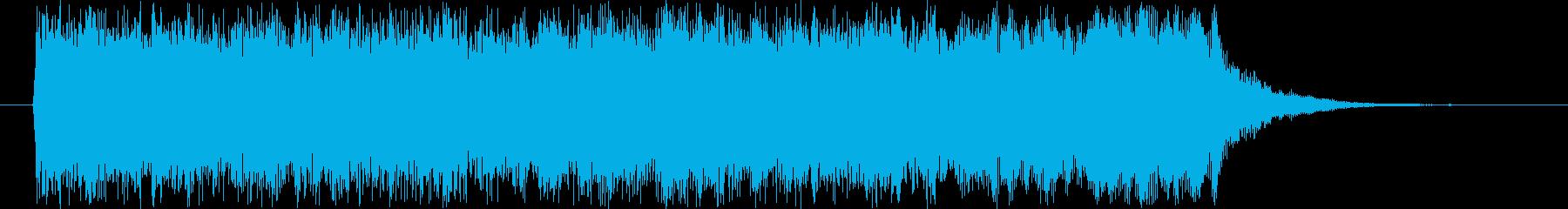 バッドエンディング~ゲームオーバーの再生済みの波形