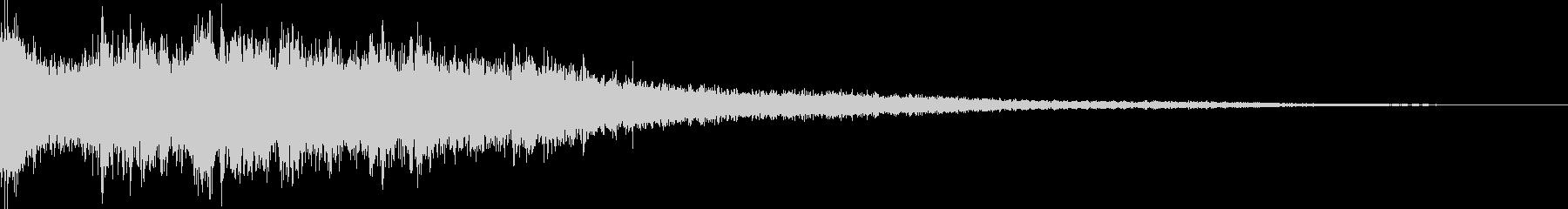 【ゲーム】 SFX_10 ヒットの未再生の波形