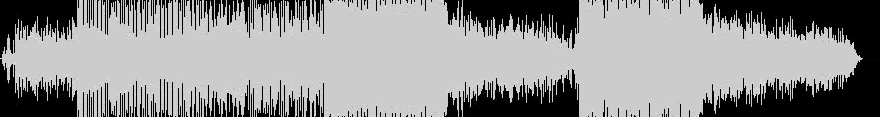 カリンバと自然なサウンドスケープ上...の未再生の波形