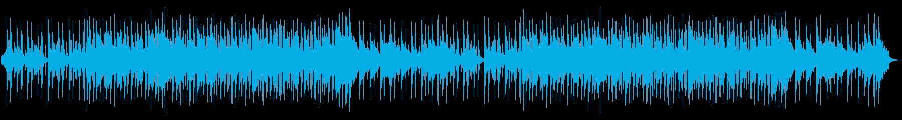 日常のシーンを選ぶときに流れている曲の再生済みの波形