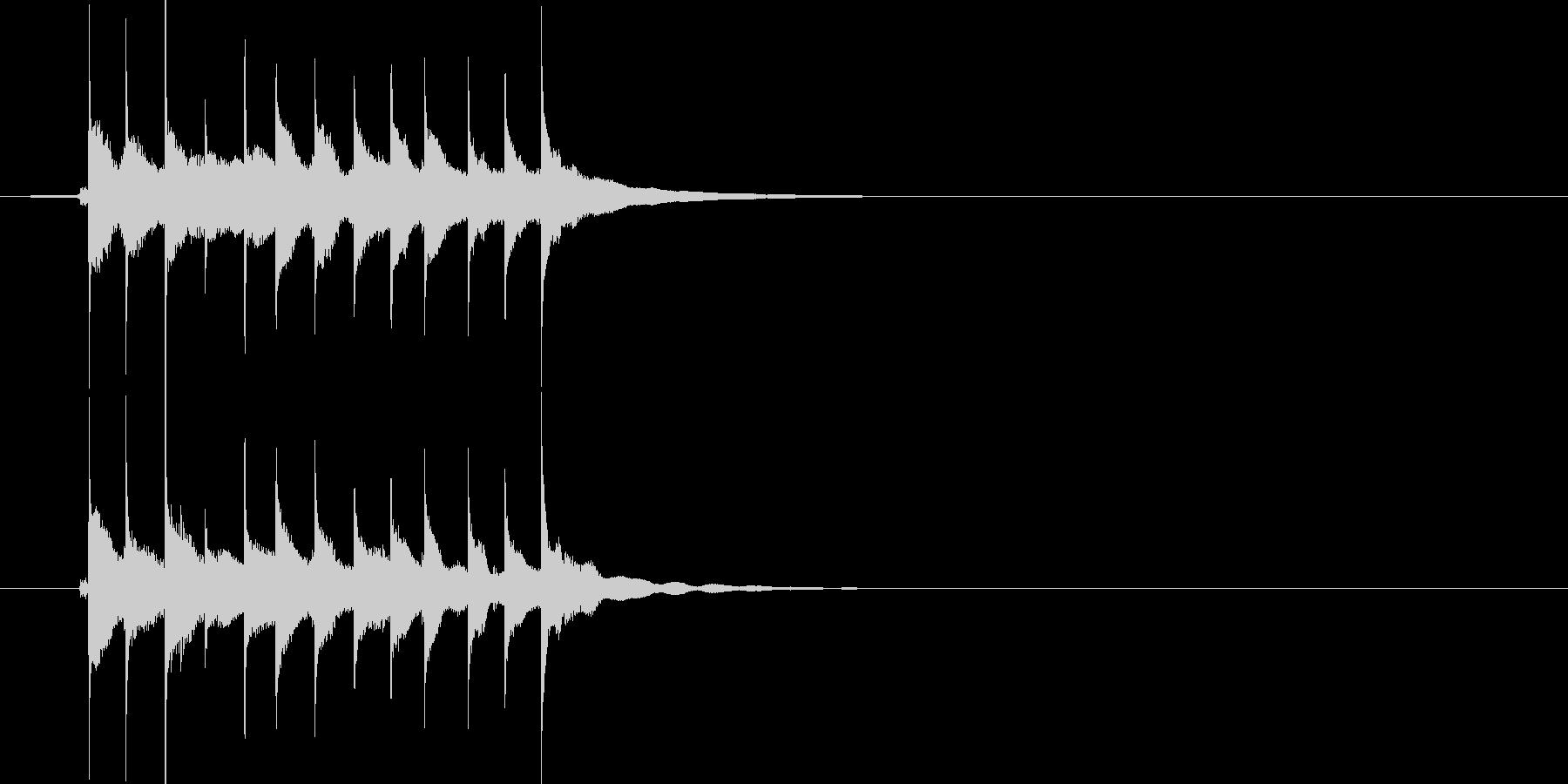 お知らせ ベル11の未再生の波形