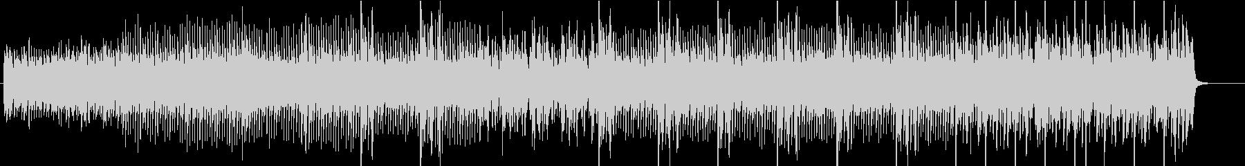 マレット風ピアノの優しいアルペジオ曲の未再生の波形