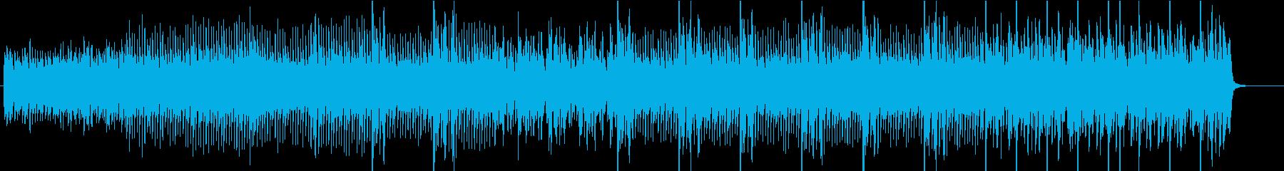 マレット風ピアノの優しいアルペジオ曲の再生済みの波形