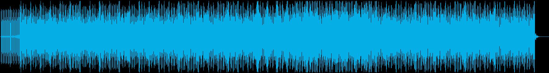 フワフワした浮遊感のディスコ調ポップスの再生済みの波形