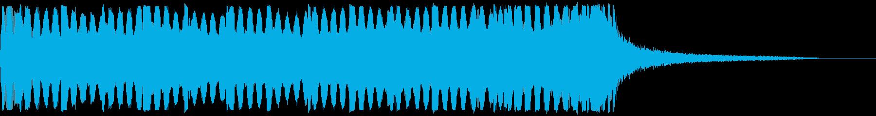 ジャングルの拍手 盛り上げ の再生済みの波形