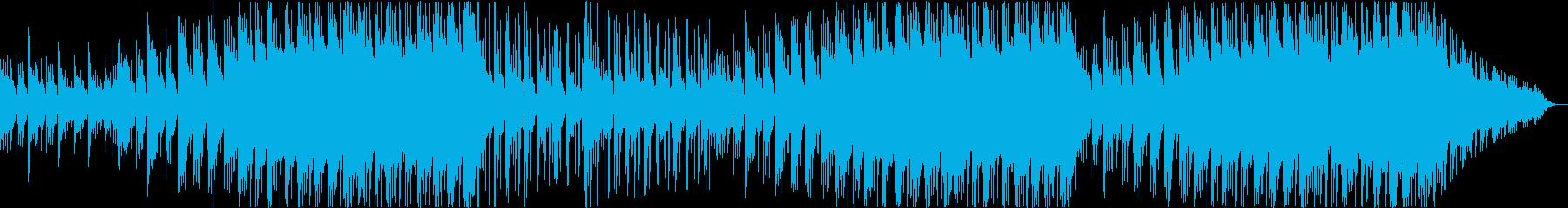 ドラム音量を下げたバージョンの再生済みの波形