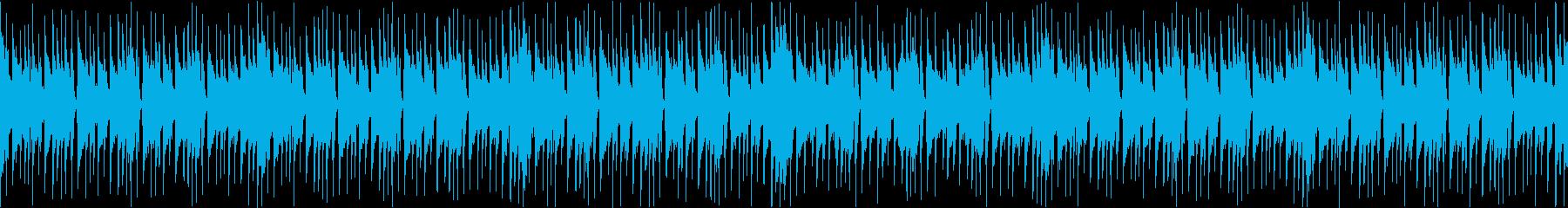 休暇をイメージしたピアノBGMループ版の再生済みの波形