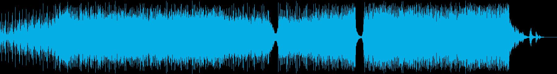 イージーリスニング-ニューエイジイ...の再生済みの波形