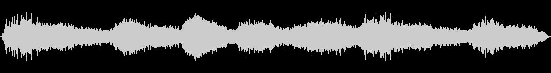 空間的で不穏なBGSの未再生の波形