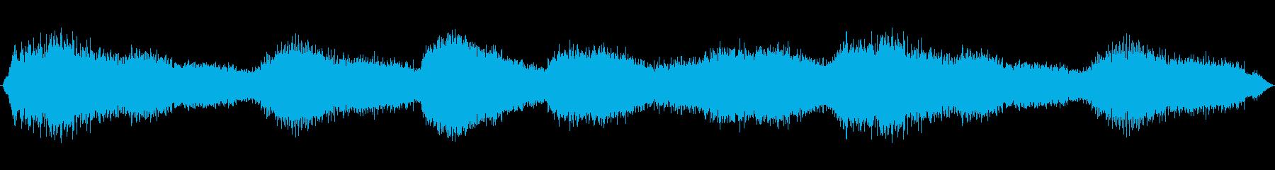 空間的で不穏なBGSの再生済みの波形