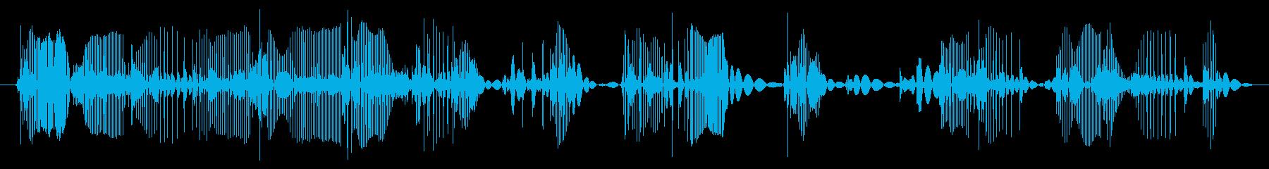 ビニールレコードターンテーブルプレ...の再生済みの波形