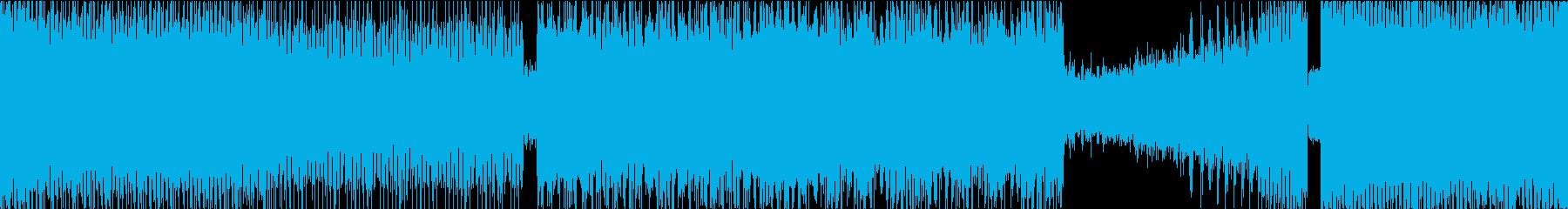 ひたすら激しいメタルロック Cの再生済みの波形