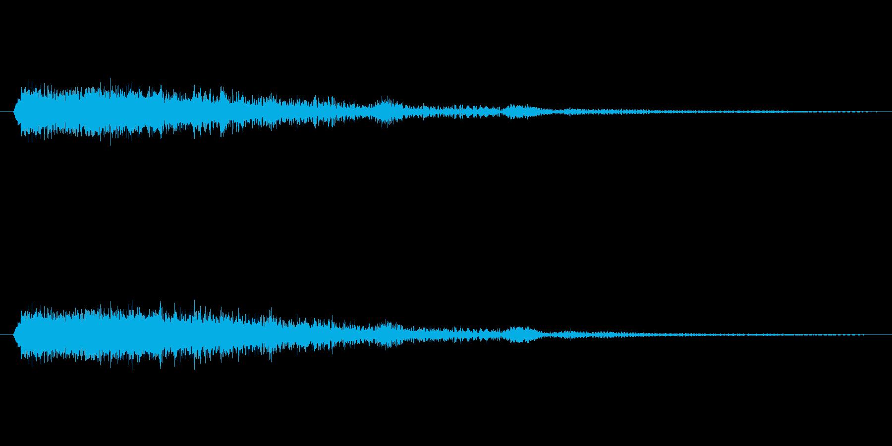 スティンガー:ドラマティックスタブ...の再生済みの波形