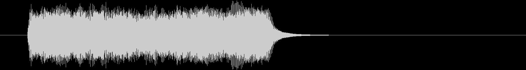 ほのぼの優しいクリスマスジングルCの未再生の波形