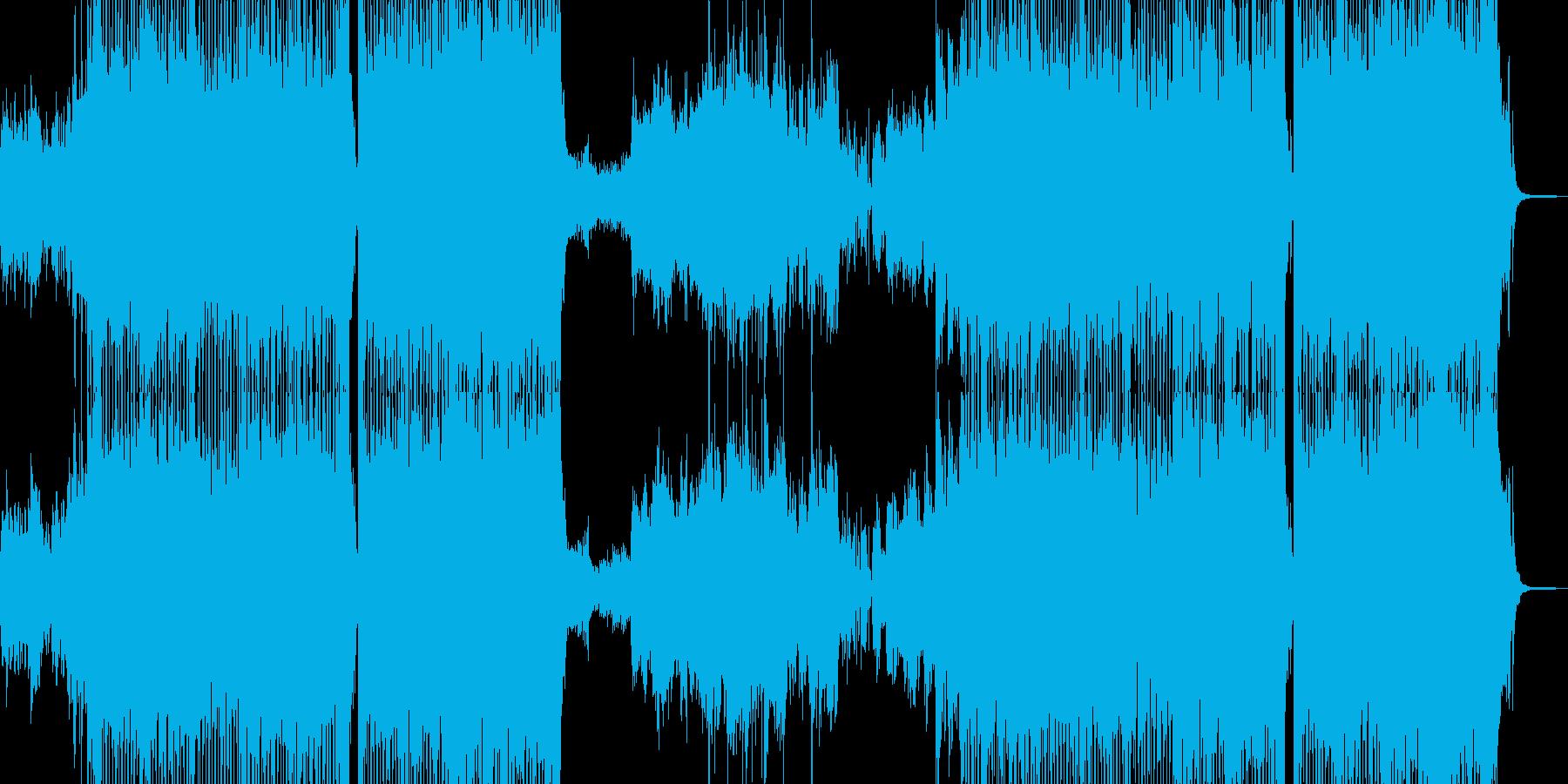 可愛い運動会テーマ・テクノポップ 短尺+の再生済みの波形
