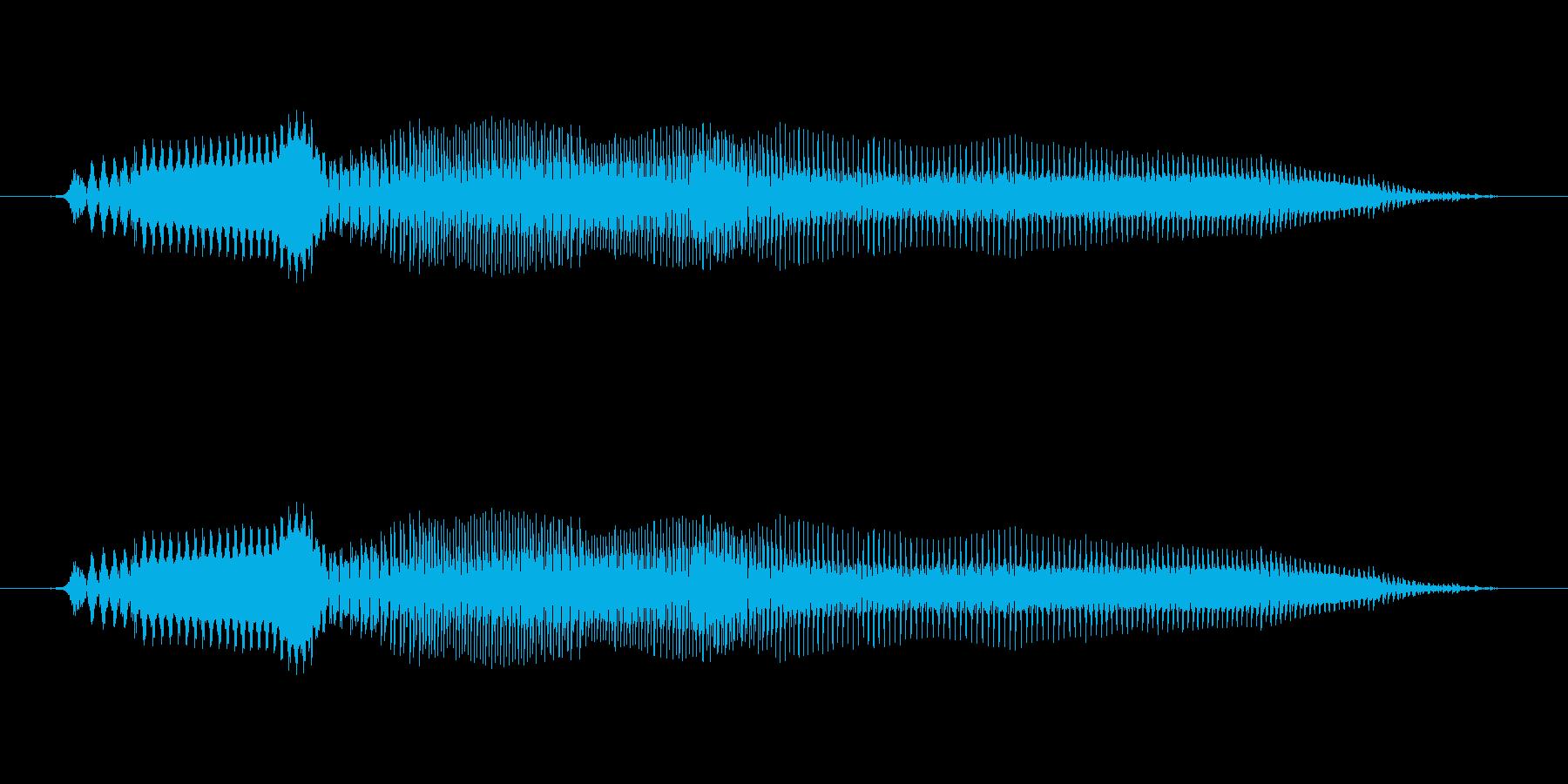 いやーぁ(イヤ) - 幼児(1~2歳)の再生済みの波形