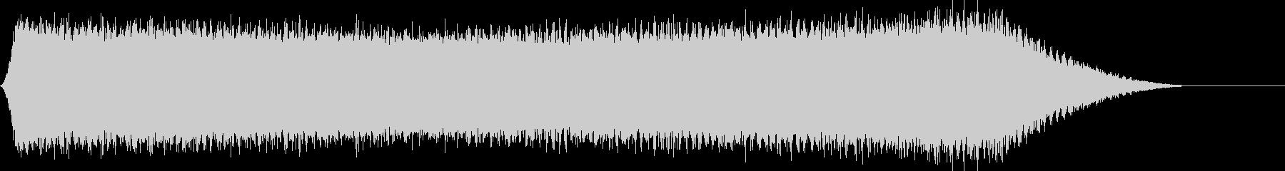 真夏のセミの音サンプリングの未再生の波形