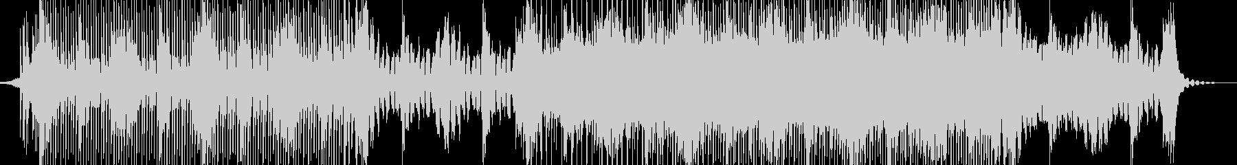 シンプルなレトロウェーヴの未再生の波形